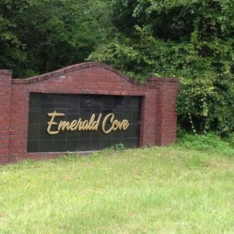 Emerald Cove sign