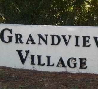 Grandview Village sign