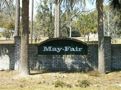 May Fair sign