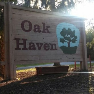 Oak Haven sign