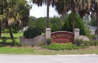 Russwood Sign